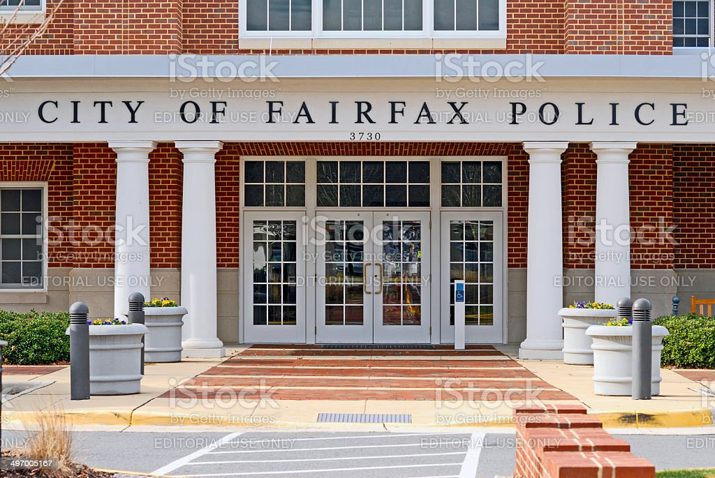 City of Fairfax Police Department stock photo