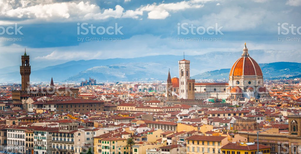 City of Florence stock photo