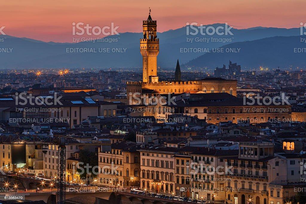 City of Florence - Tuscany - Italy stock photo