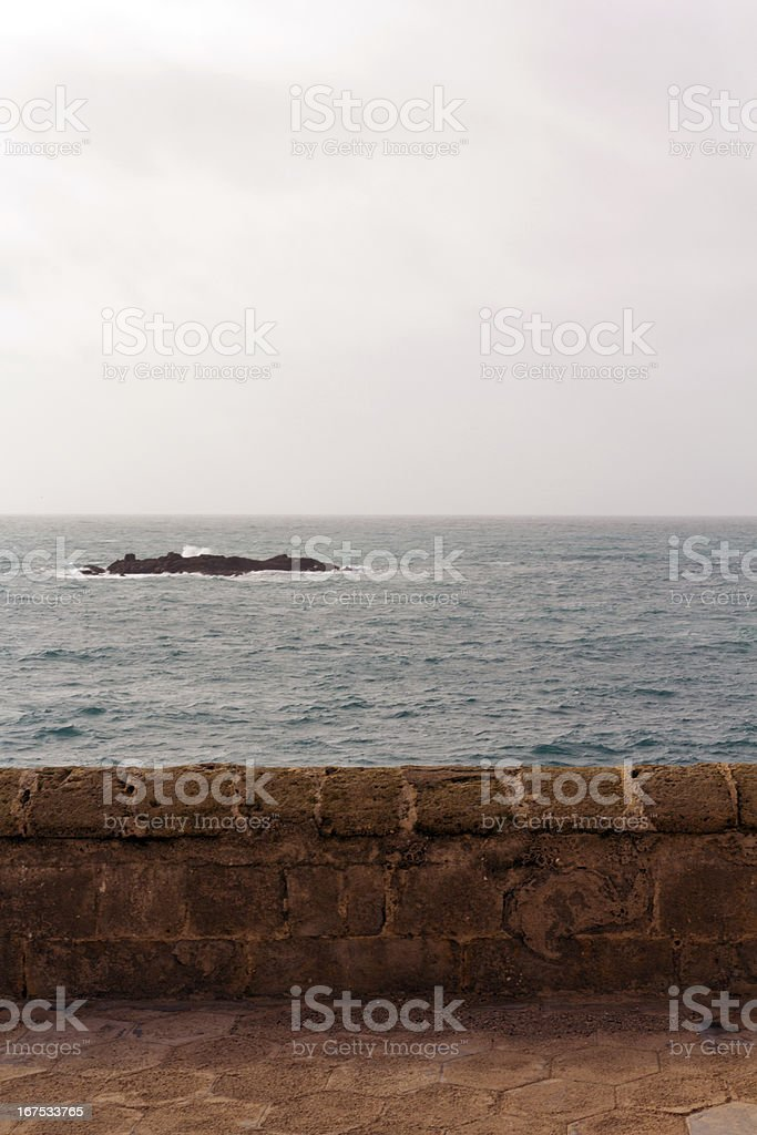 City of Gallipoli royalty-free stock photo