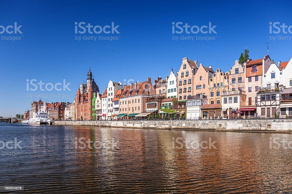City of Gdansk royalty-free stock photo