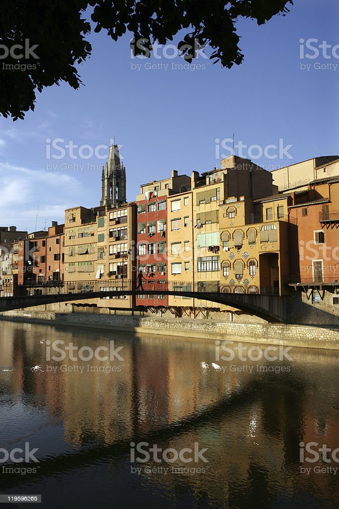 City of Girona, Spain royalty-free stock photo