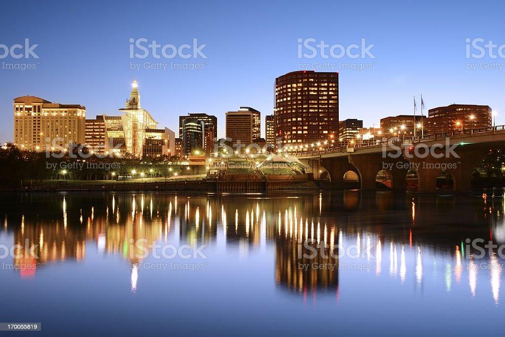 City of Hartford, CT stock photo