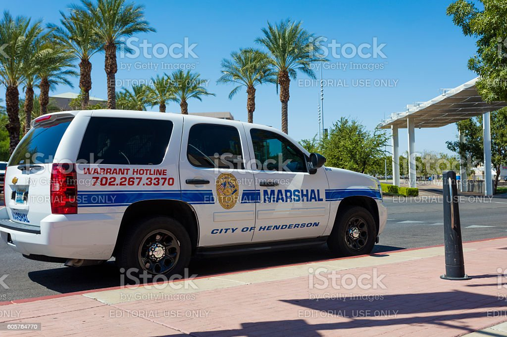 City of Henderson Marshal stock photo