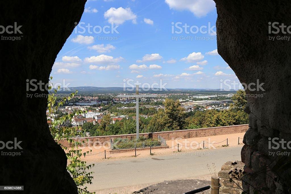City of Homburg, Saarland, Germany stock photo