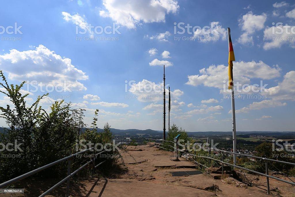City of Homburg/Saar, Saarland, Germany stock photo