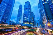 City of Hongkong at night