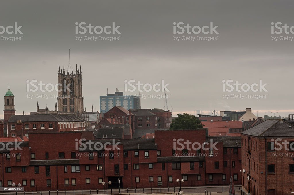City of Hull, Yorkshire, England stock photo