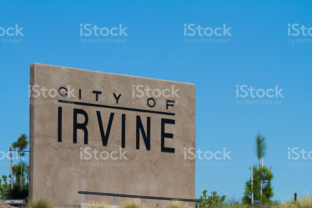 City Of Irvine stock photo