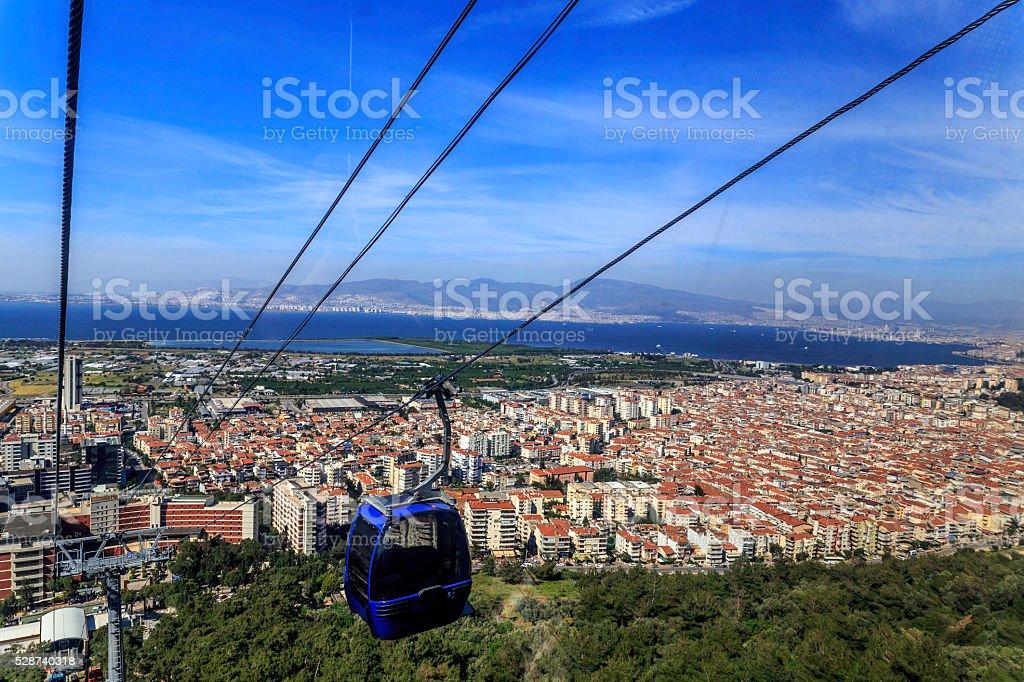 city of Izmir,Turkey stock photo