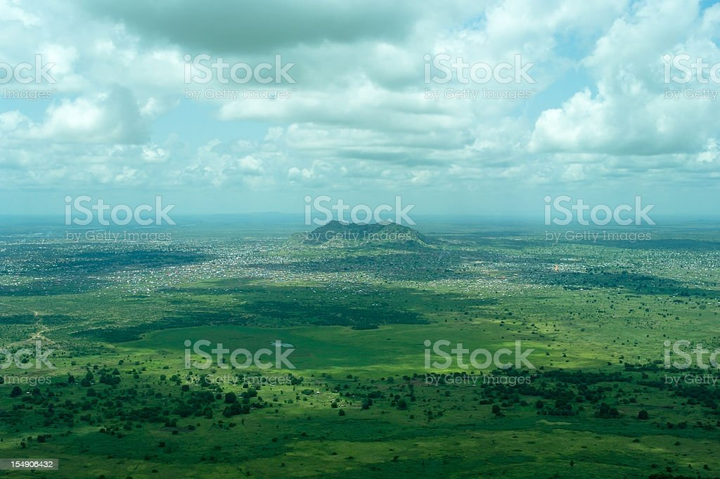 City of Juba in Southern Sudan stock photo
