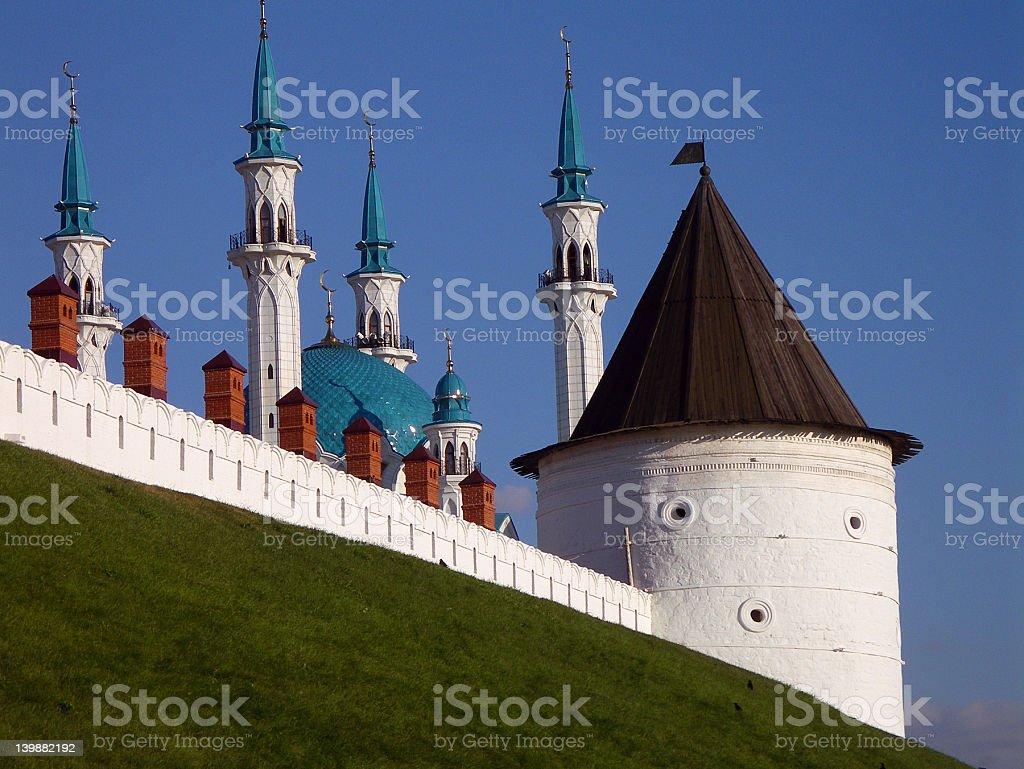 city of Kazan royalty-free stock photo