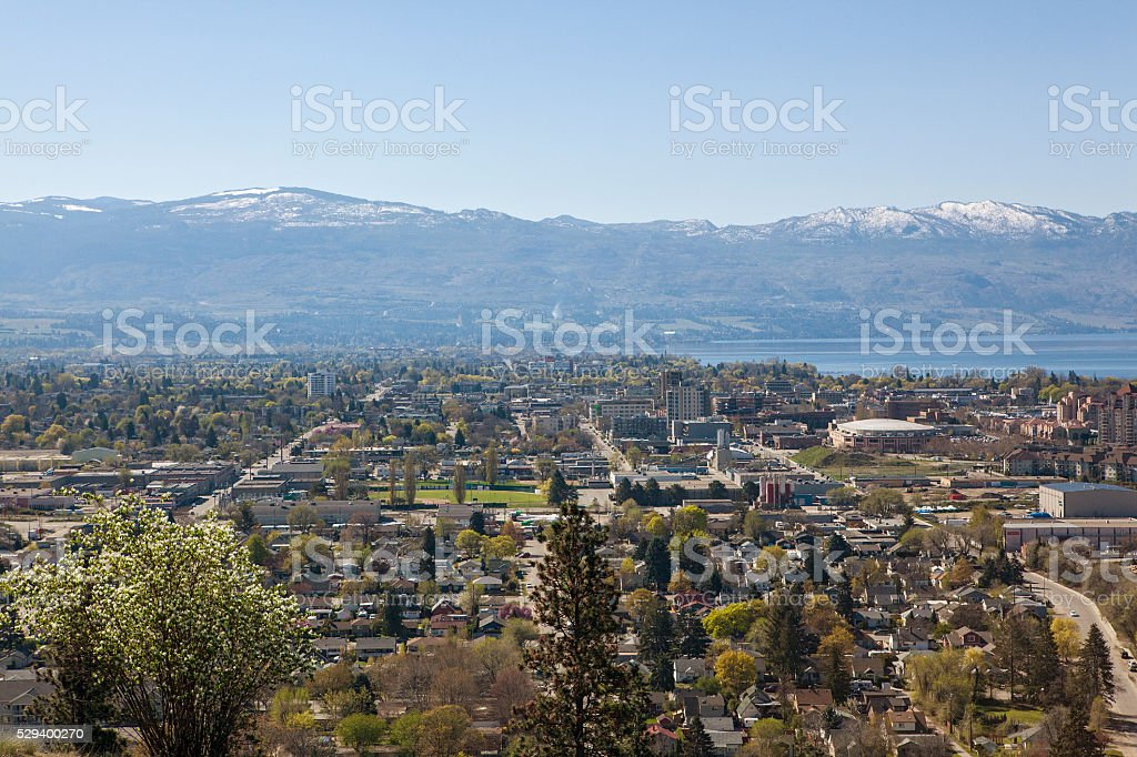 City of Kelowna stock photo