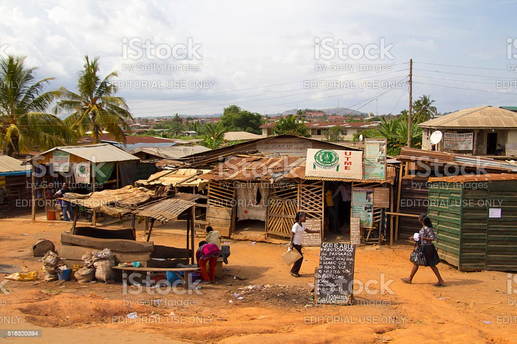 City of Lagos, Nigeria stock photo