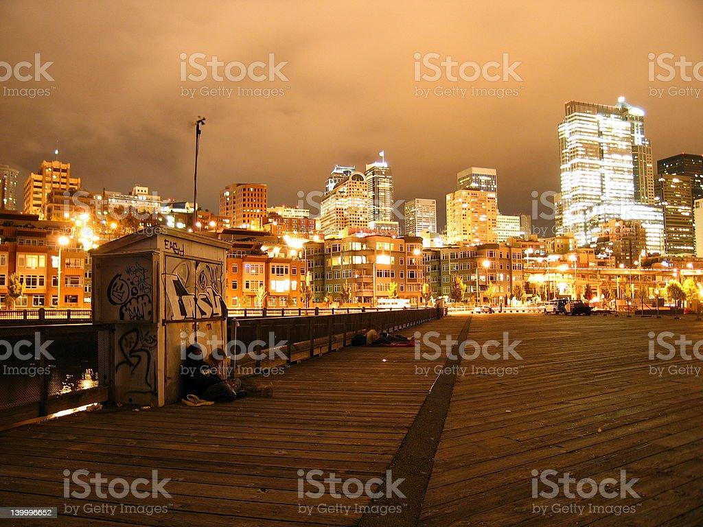City of  Lights stock photo