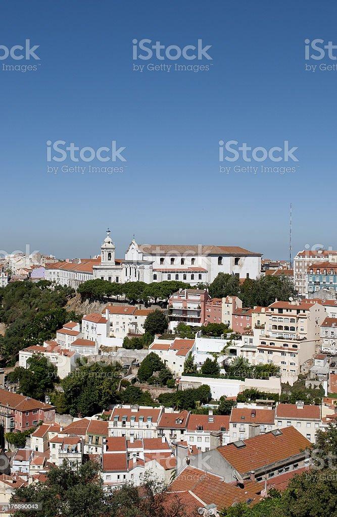 City of Lisbon royalty-free stock photo