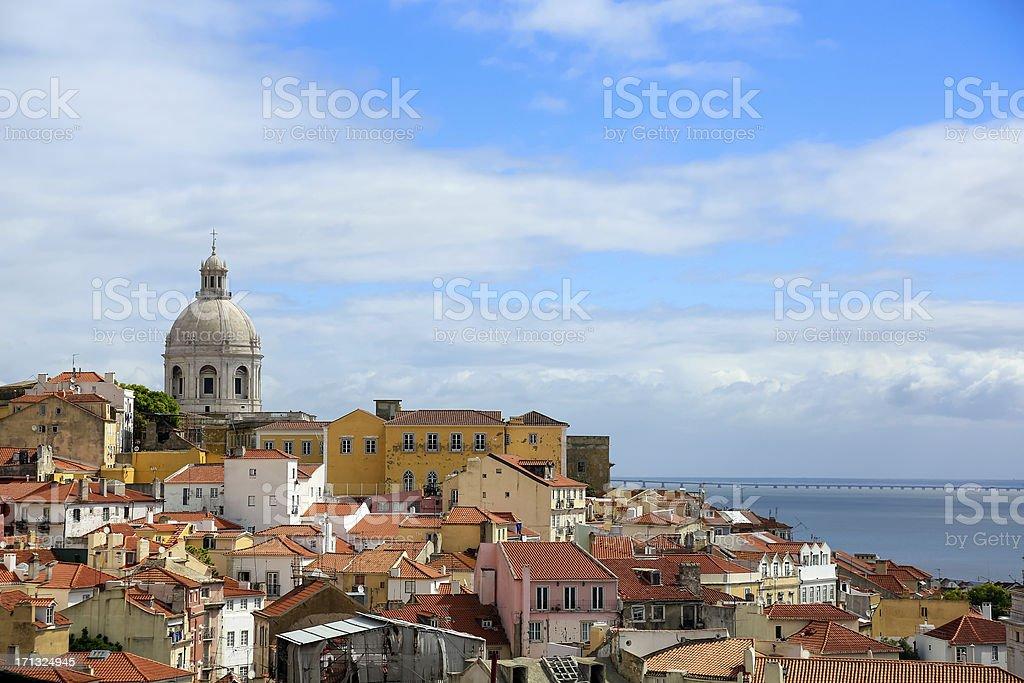 City of Lisbon, Portugal stock photo