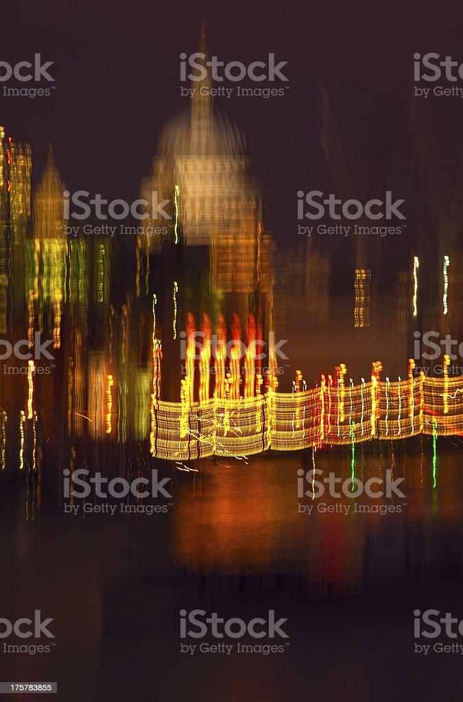 City of London Impressionism stock photo