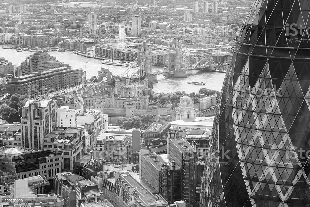 City  of London in England, UK stock photo