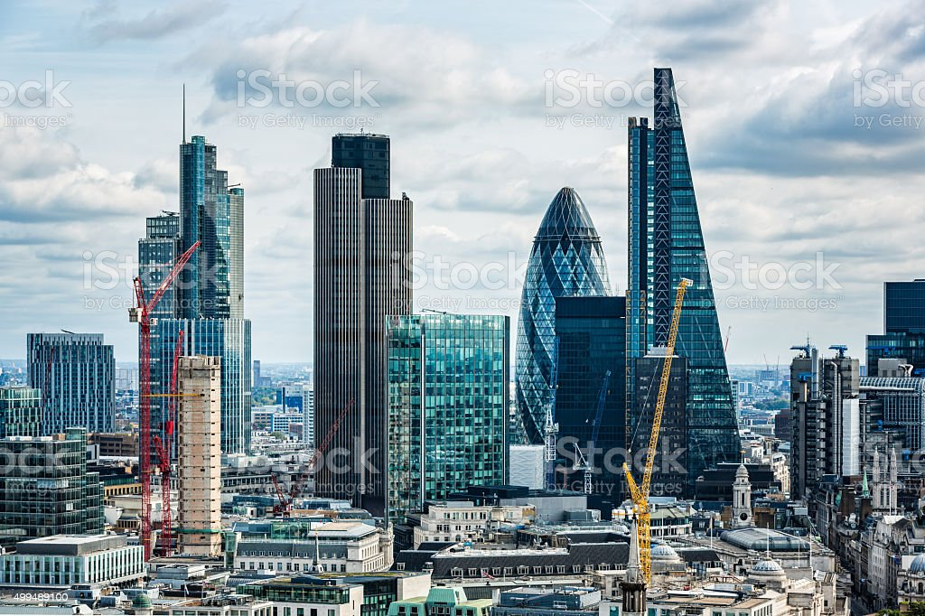 City of London, London, UK stock photo