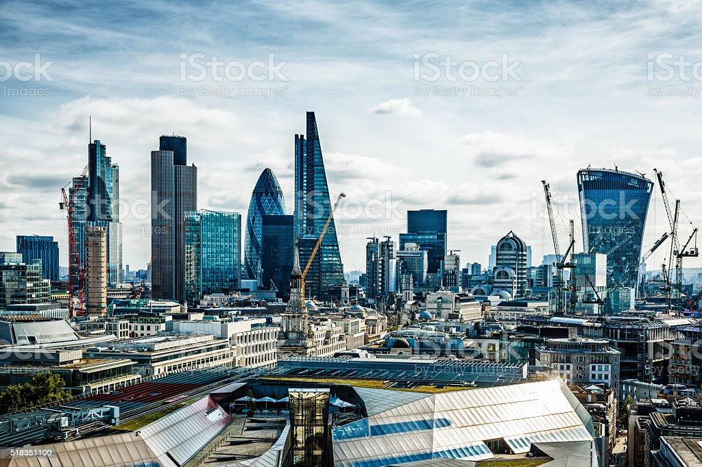 City of London, London, UK stock photo