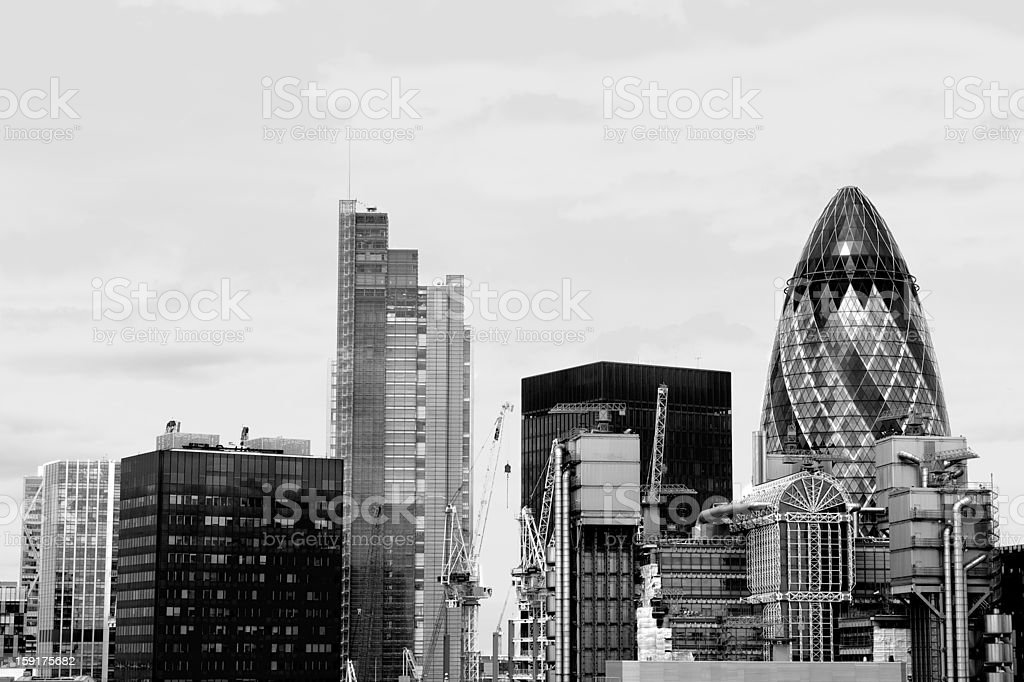 City of London (financial district), UK stock photo