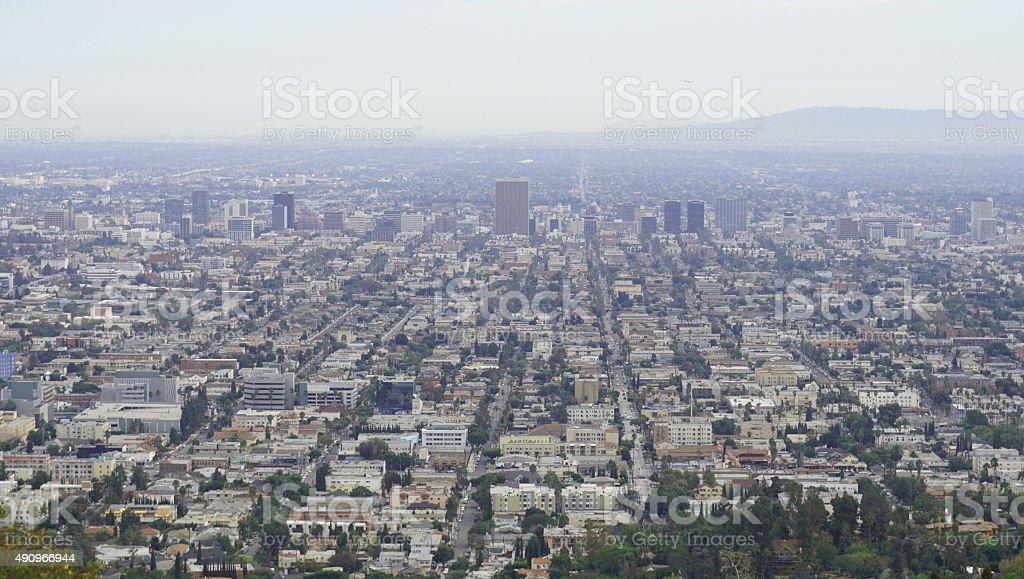 City of Los Angeles, California stock photo