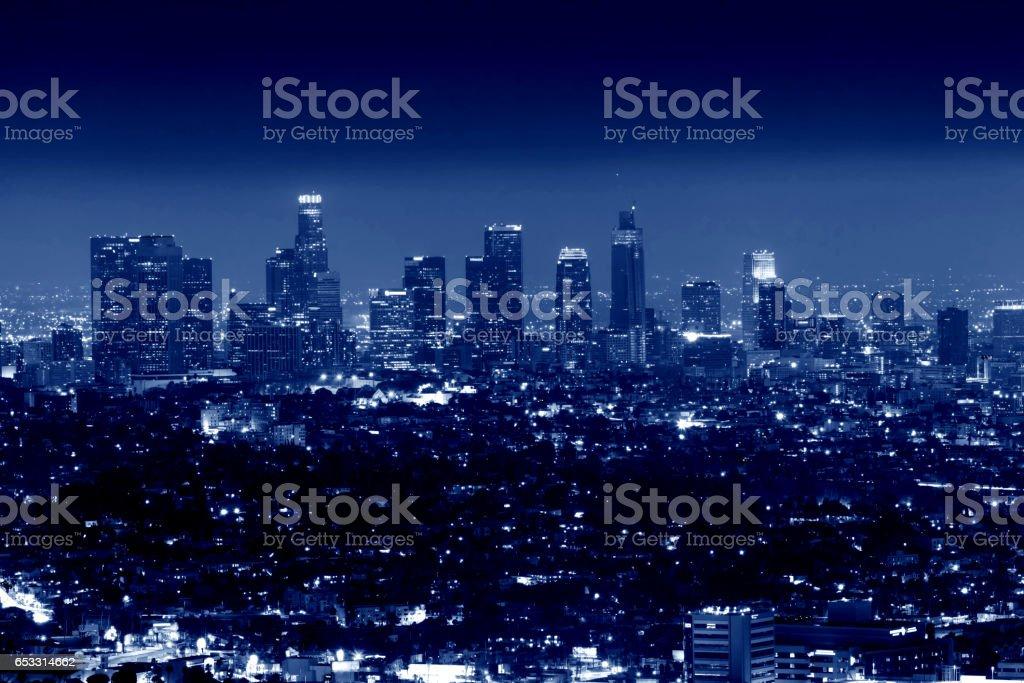 City of Los Angeles, California, USA stock photo