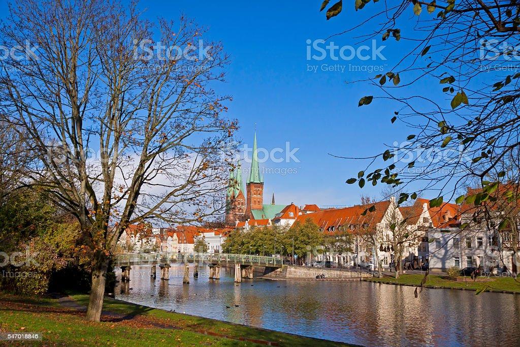 City of Lubeck, Germany stock photo