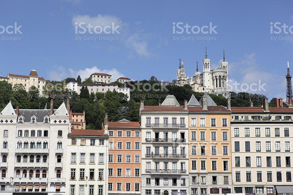 City of Lyon, France stock photo