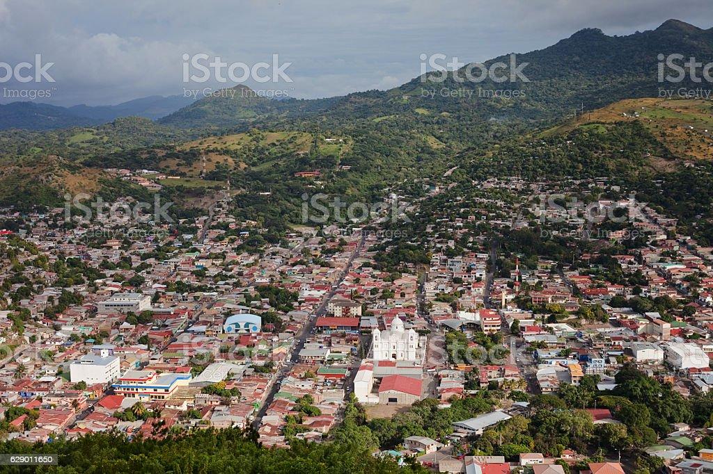 City of Matagalpa, Nicaragua stock photo