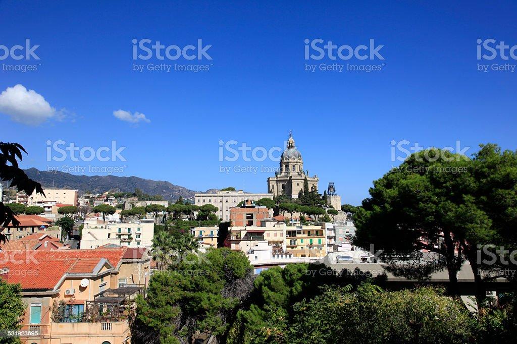 City of Messina stock photo
