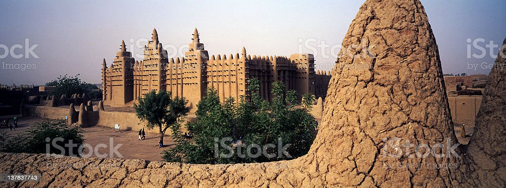 City of Mud royalty-free stock photo