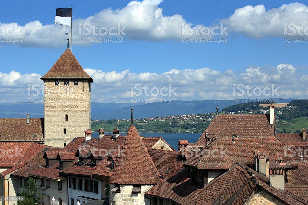 City of Murten, Switzerland royalty-free stock photo