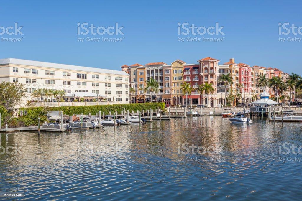 City of Naples, Florida stock photo