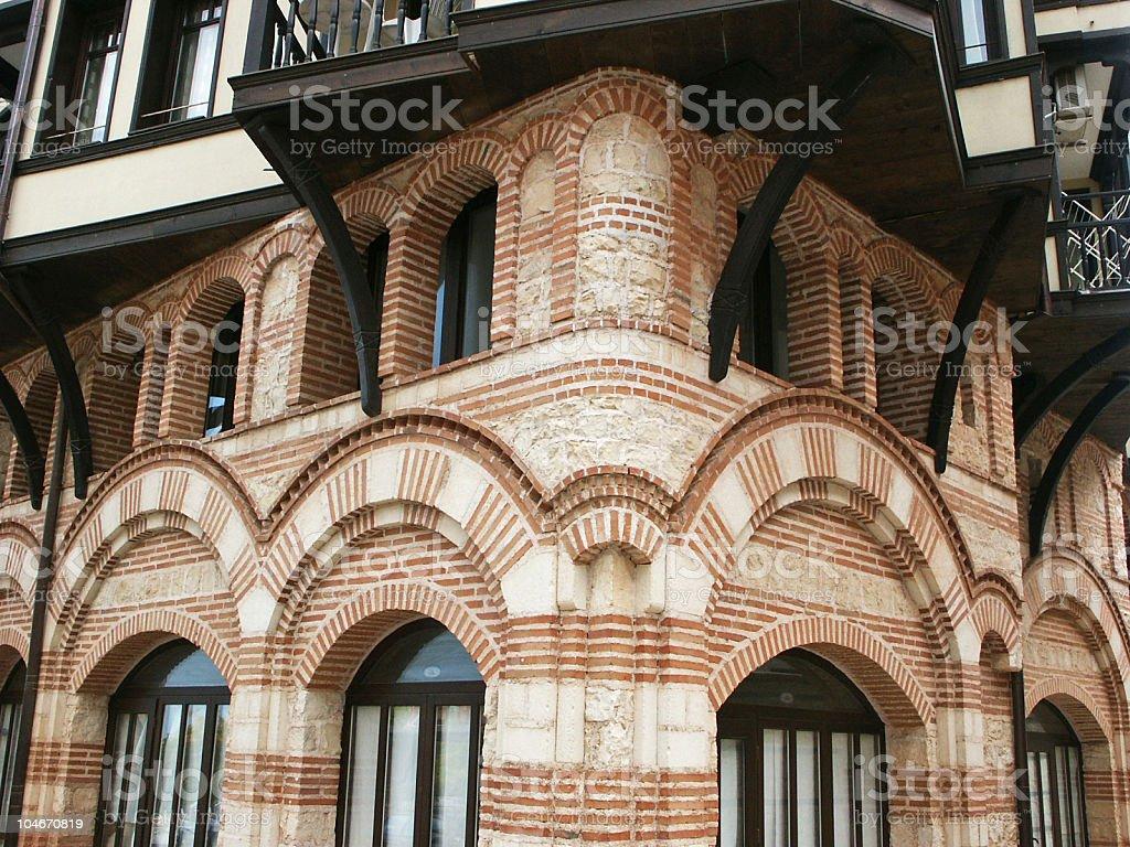 city of Nesebr stock photo