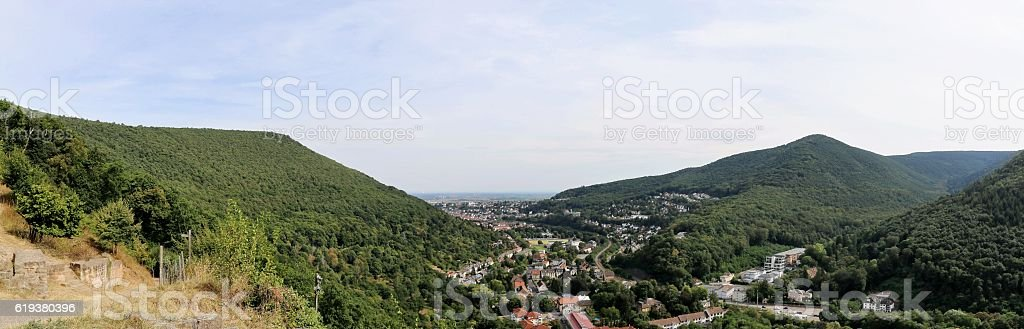 City of Neustadt an der Weinstrasse, Rhineland-Palatinate, Germany stock photo