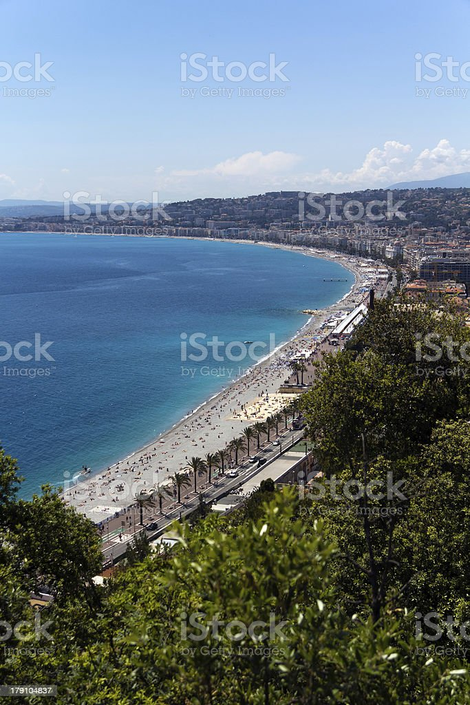 City of Nice, France, French Riviera, Provence royalty-free stock photo