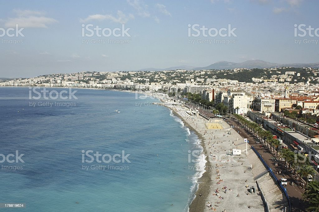 City of Nice, France royalty-free stock photo