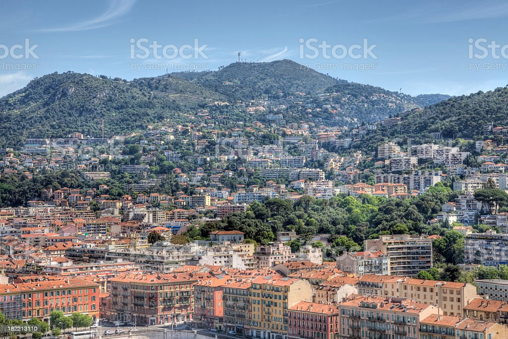 City of Nice - France royalty-free stock photo