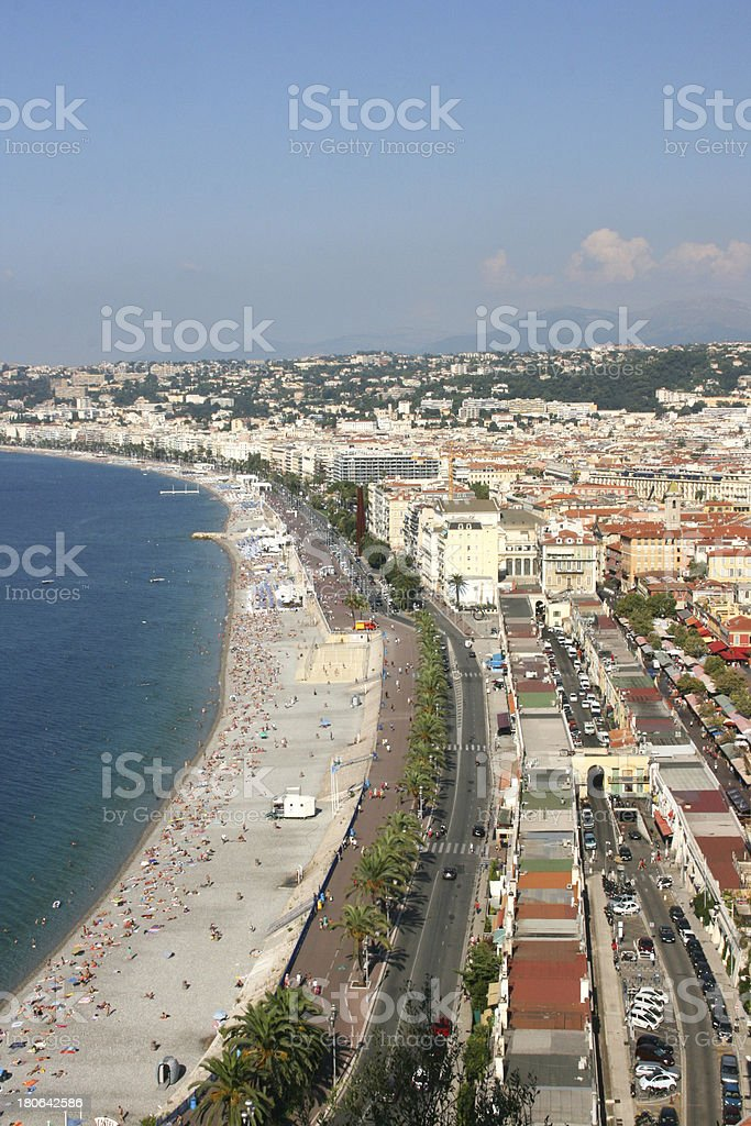 City of Nice, French riviera, France. royalty-free stock photo