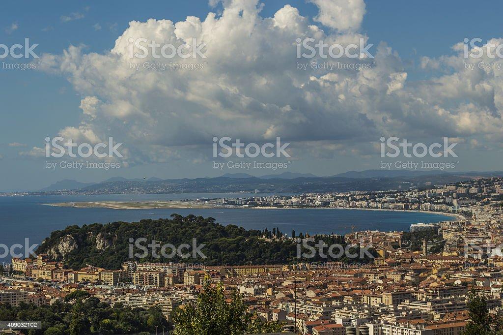 City of Nice stock photo