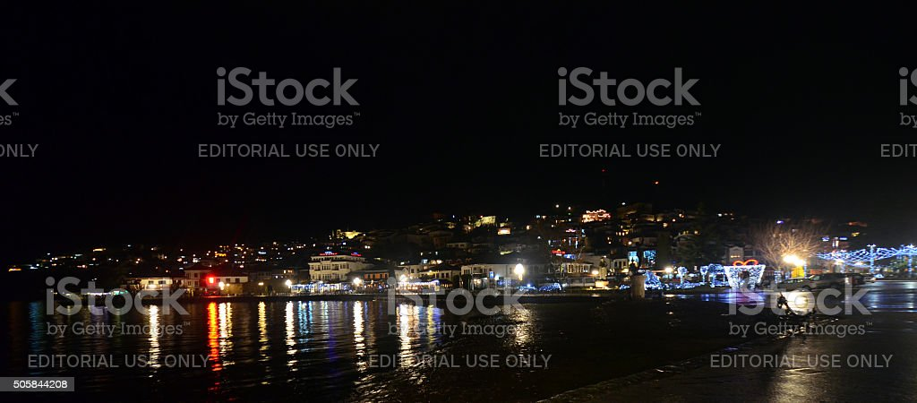 City of Ohrid, Macedonia stock photo