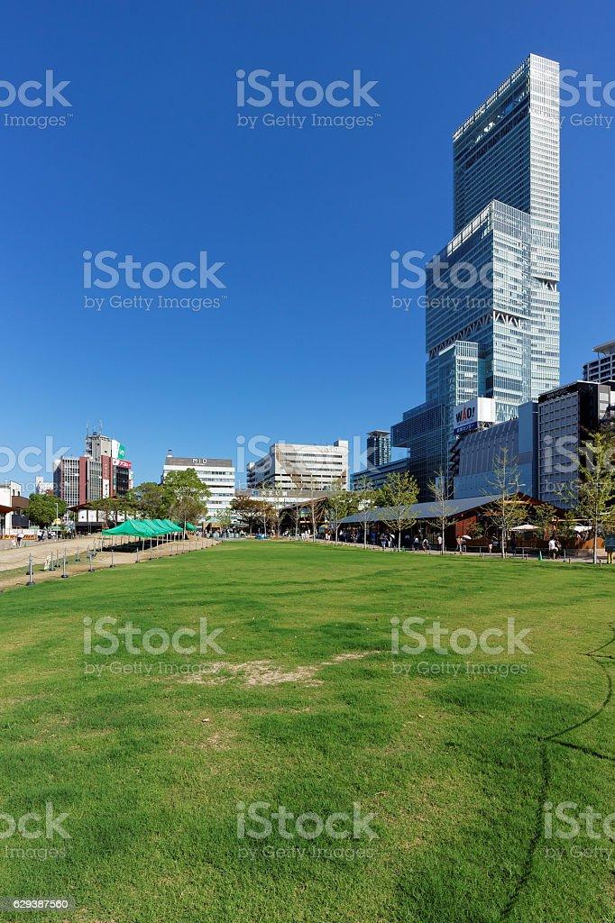 Ville d'Osaka  photo libre de droits