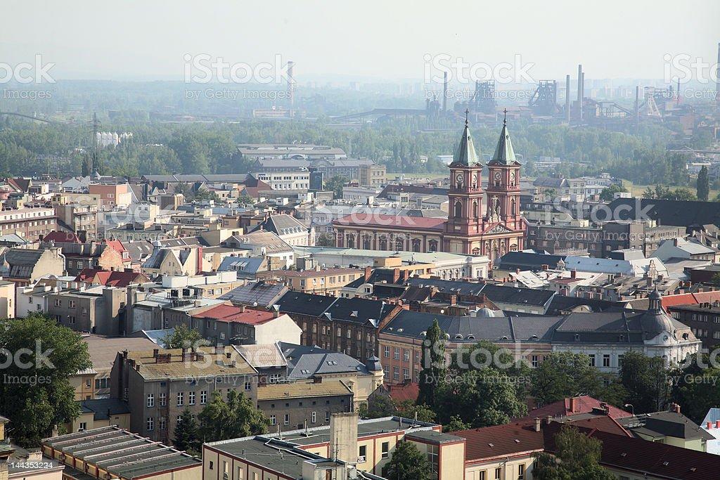 City of Ostrava Czech Republic royalty-free stock photo