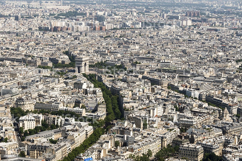City of Paris, France royalty-free stock photo