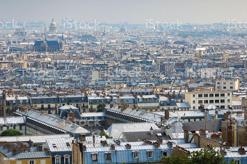 City of Paris, France royalty-free stock photo