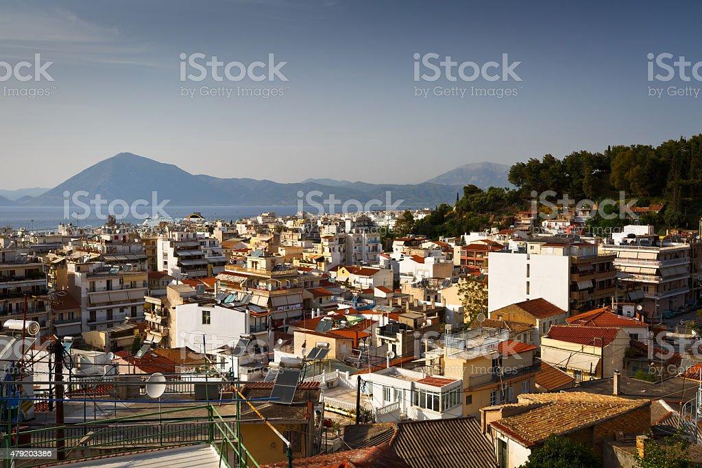 City of Patras. stock photo