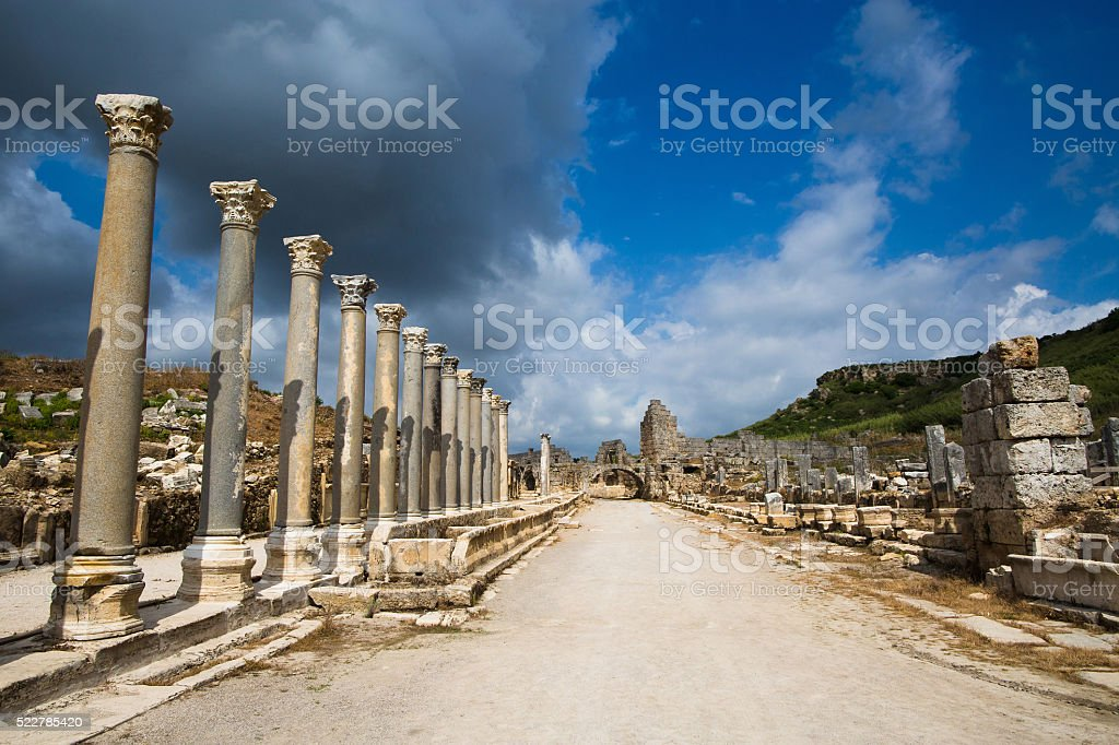 City of Perge stock photo