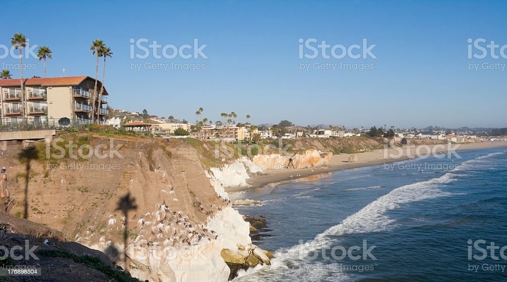 City of Pismo Beach, CA stock photo
